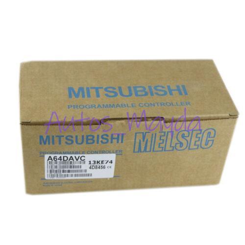 Brand New Mitsubishi A64DAVC PLC Module 1 year warranty