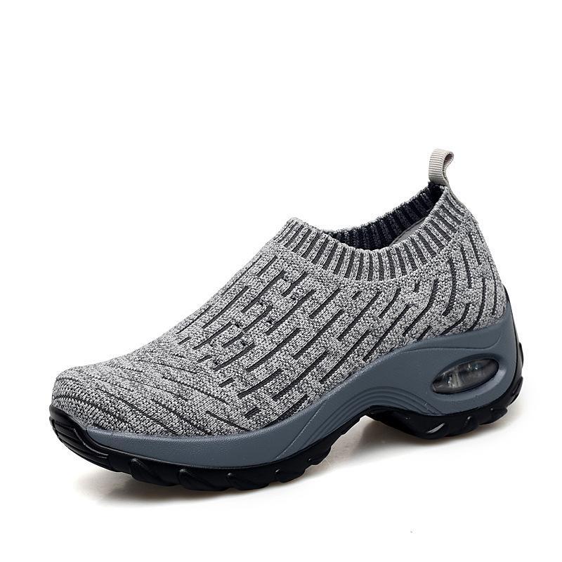 zapatos para correr venta Hott whole envío gota clásico negro blanco verde gris calcetines deportivos zapatillas de deporte del tamaño 35-42 envío libre de seis