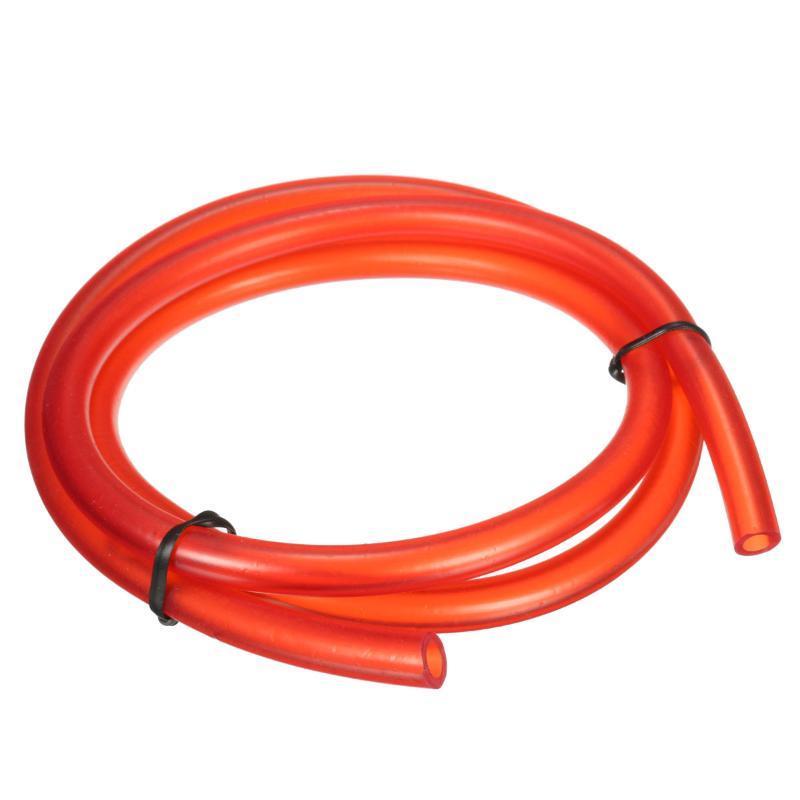 1M de nylon de la motocicleta de la manguera de gasolina Tubo de combustible de la manguera de gas Tubería de aceite del tubo para la mini bici de la suciedad de Moto Verde Negro Rojo Naranja Rosa Azul