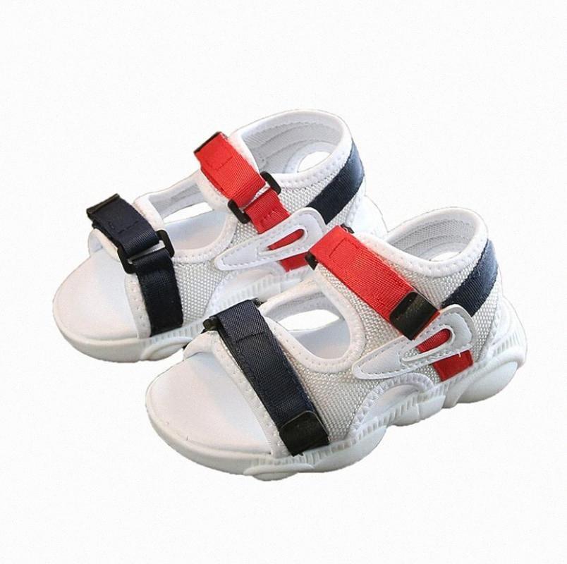 Crianças Esporte Sandals bebê confortável Sandals Verão New Boy Meninas da praia Sapatos Crianças Casual 6FQs #