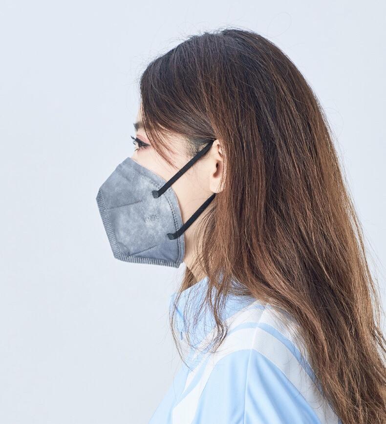 не Kn95 щиток для лица, с высокой эффективностью фильтрации и низким сопротивлением структуры 5 слоев, поверхностный слой ткани PP, безвкусный, никакой аллергии