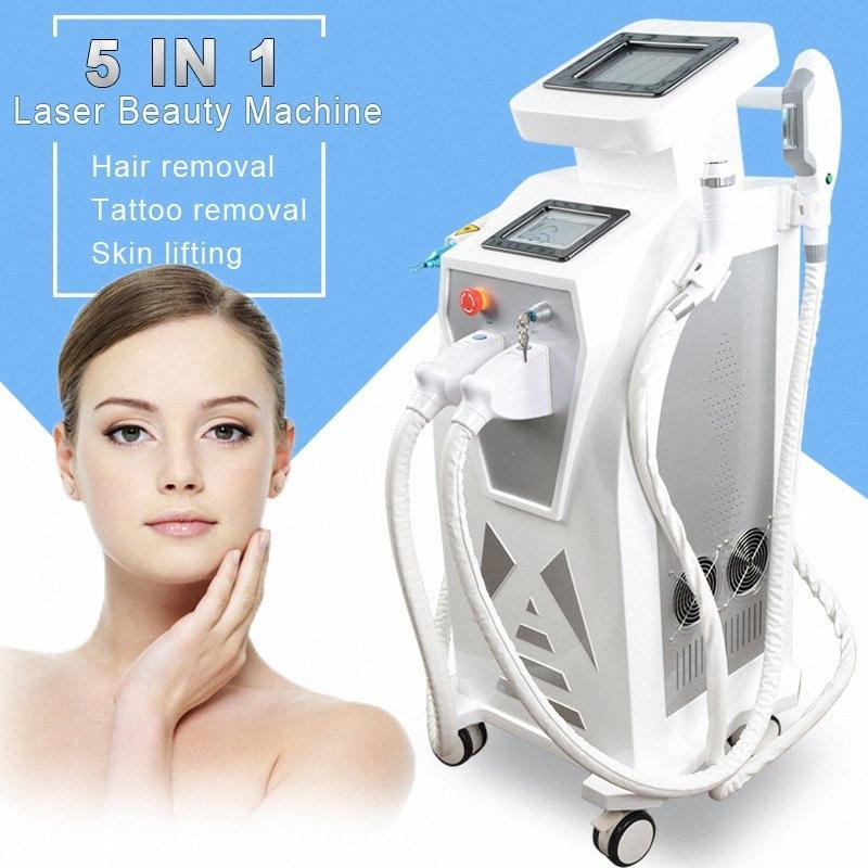 E-Licht IPL rf-Yag-IPL-Haarentfernung China Laser-Haarentfernung q-switched Nd yag rf Anti-Aging-Beauty-Maschine 4aca #
