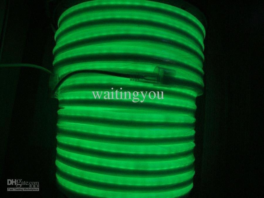 LED mayor-luz de neón de la cuerda de la flexión del PVC LED de luz de la cuerda de la Noche Disco bar AC220V / 110V ewP6 #