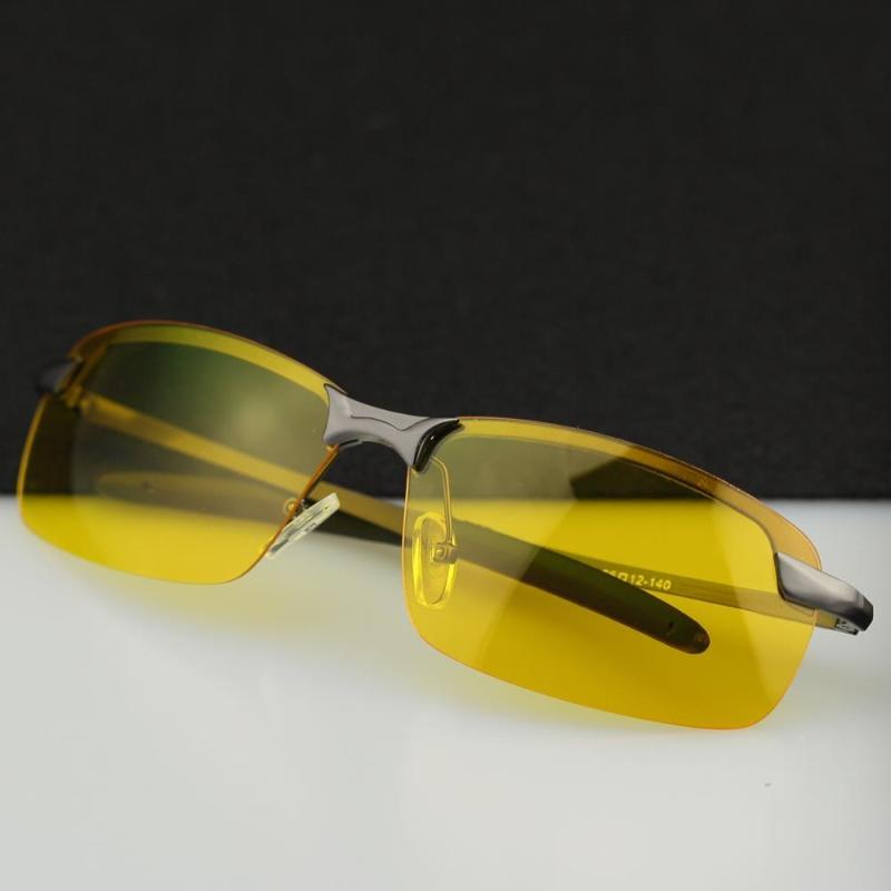 2020 HD Professional Driving Glasses Night Vision Polarized Sun Glass for Driver Goggles Yellow Lens Sunglasses