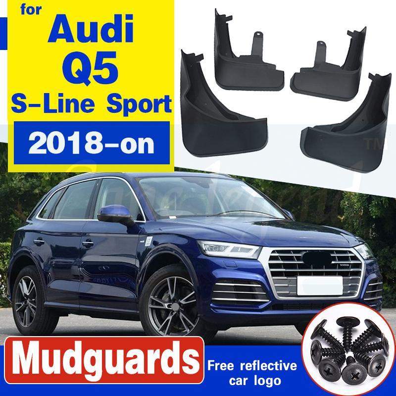 OE Styled Moulé voiture boue Rabats pour Audi Q5 FY S-Line Sport SQ5 2018 sur Bavettes garde-boue BOUE Garde-boue Car Styling