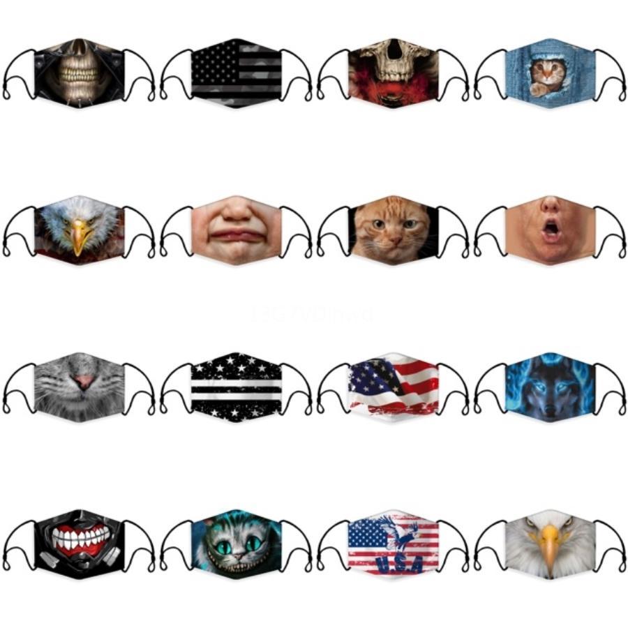 13Style Pullu Yüz earloop Koruyucu Maskeler Yaz Güneş kremi Anti Toz Ağız Er Moda Glitter Tasarımcı MASKESİ GGA3381-3 # 413 Maskesi