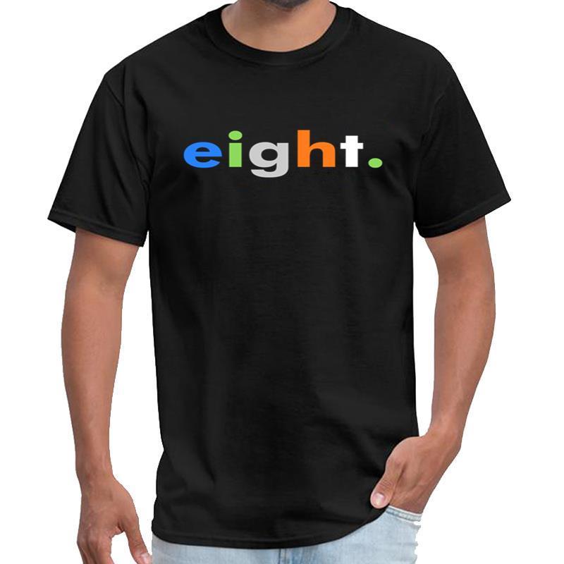 Ocho diseñador octavo cumpleaños camiseta homme vendimia camiseta La Casa de papel de gran tamaño ~ s 5xL camiseta top