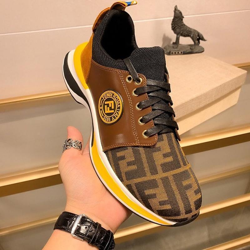 Hızlı teslimat ambalaj 080 Yüksek kaliteli erkek tasarımcı gündelik spor ayakkabı, moda marka açık rahat ayakkabılar, orijinal kutusu