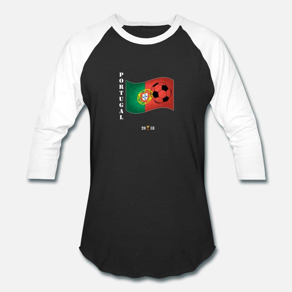 Portugal 2018 Bandeira Torneio de Futebol Rússia t shirt homens Imprimir manga curta Euro Tamanho Luz Solar cor sólida engraçado camisa Primavera Casual S-3xl
