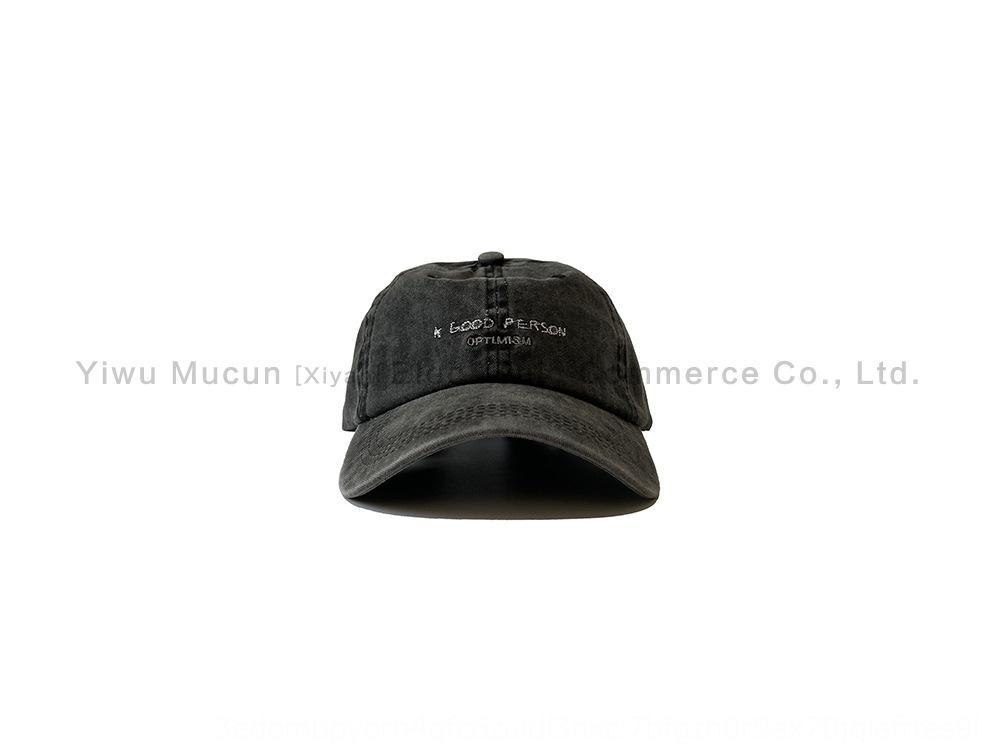 ины мыть бейсбол ВС Hat ВС шляпа старой чистый хлопок бейсболка корейский стиль мужчины и женского вышитого простого письмо Зонта колпачок u2P3e