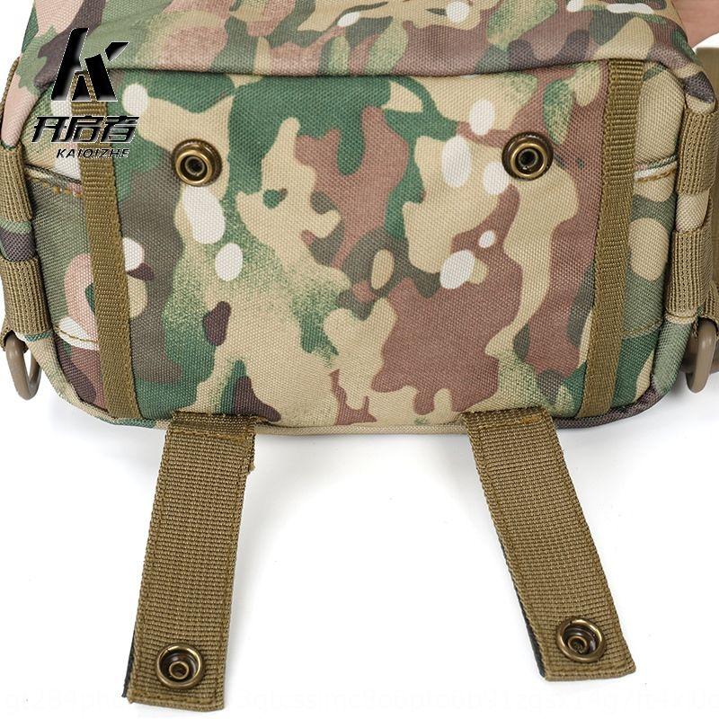 wKpGf MOLLE System taktische kleine messenger Tarnung Schulter Laufpaket Commuter Paket Schultertasche Commuter Tasche Tasche