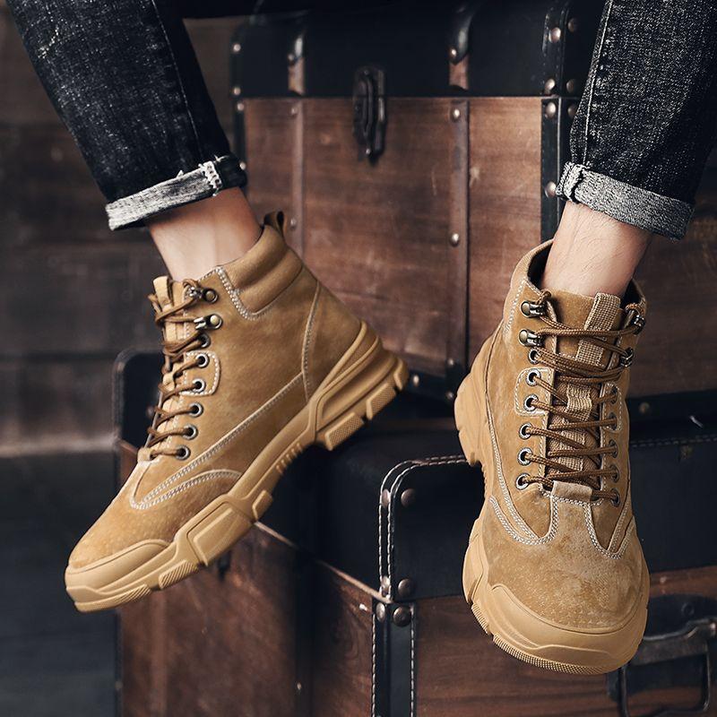 sport chaud de cause à effet Sneaker chaussures hommes noir Casual 2020 vente respirant nouveau cuir loisirs pour les chaussures de plein air du sport de la mode masculine