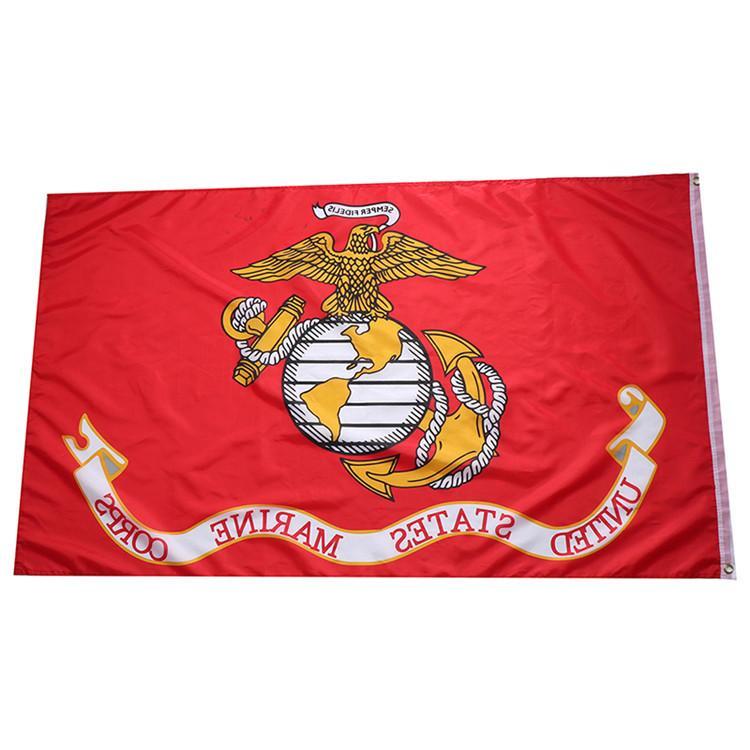 Hot direkte Fabrik 3x5fts 90x150cm Vereinigte Staaten von amerikanischen USA US-Armee USMC Marine Corps Flagge