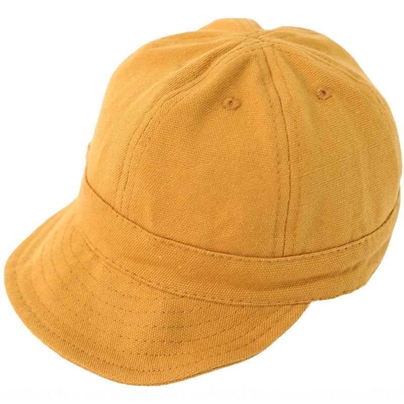 Qiu Nan çocuk beyzbol şapkası ilkbahar ve sonbahar yumuşak saçak saf renk kızların güneş şapkası Kore tarzı çocuk beyzbol şapkası kap