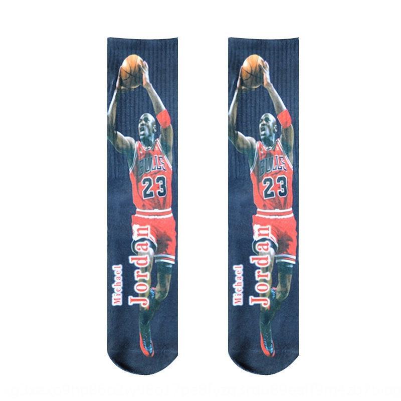 3D dijital baskı Dijital basketbol çorap termal transfer baskı basketbol çorap sonbahar ve kış 9Dal7 ördek SportsElite 3D Mandarin
