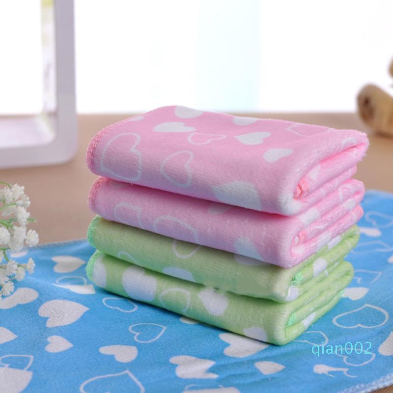 25 * 50см Новые мягкие микрофибры Печать Детский HandFace Towel35