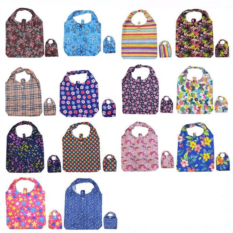 Quintil Offspring Einkaufstaschen Organizer Wasserdichtes Nylon tragbaren Speicher-Beutel-populäre Qualitäts mit verschiedenen Style 4 68mx J1