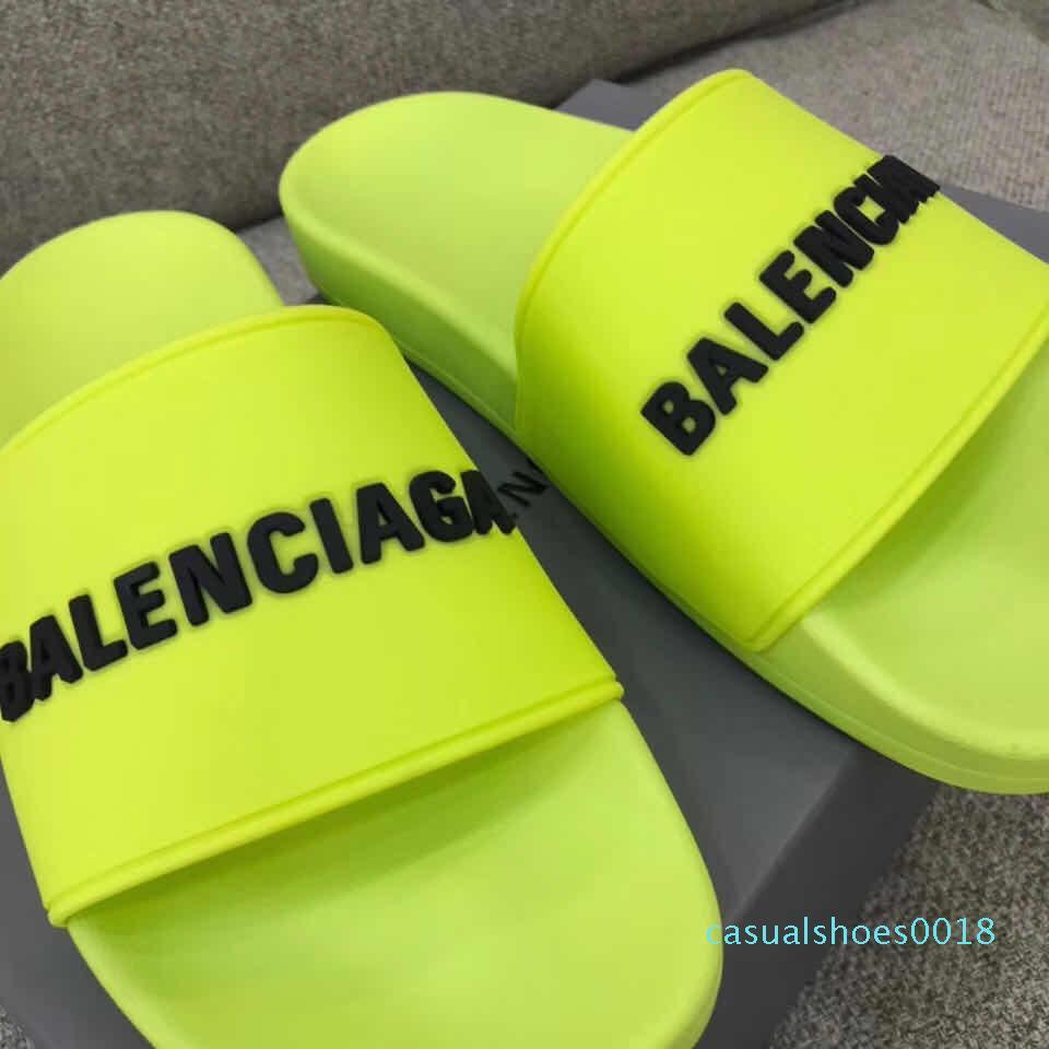 Casual Shoes Designer sandali donne degli uomini di lusso a fogli mobili all'aperto Flop Moda pistoni di marca delle ragazze dei ragazzi colorato piattaforma pantofole c18