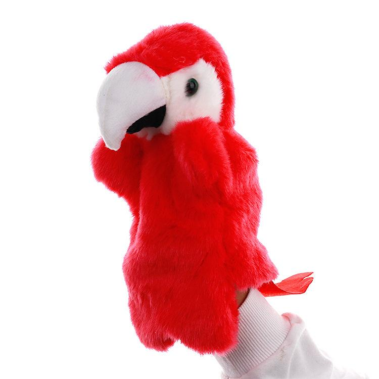 Plush toys hand puppet doll kindergarten story high quality props family interactive doll variety of styles