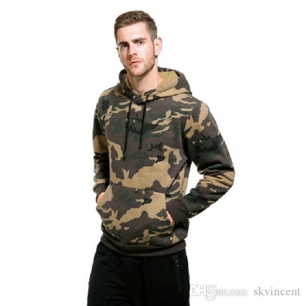 Nuovo progettista inverno autunno caldo esterna Hoodies del Mens superiore hiphop manica lunga maglione Felpe Cotone sportwear casuale di stampa lettera incappucciata