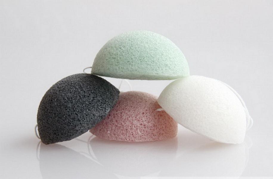 Natural Aktiv Pflanze Konjac Cleanse Waschen Schwamm Multi-Color Exfoliator Reinigung Sponge Gesichtspflege Make-up-Tools