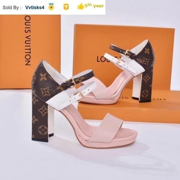 starke Ferse Schuhe mit hohen Absätzen Sandalen Frauen hohe Absätze Pantoffel Mules Slides Pumpen-Schuh-Turnschuh-Kleid-Schuhe