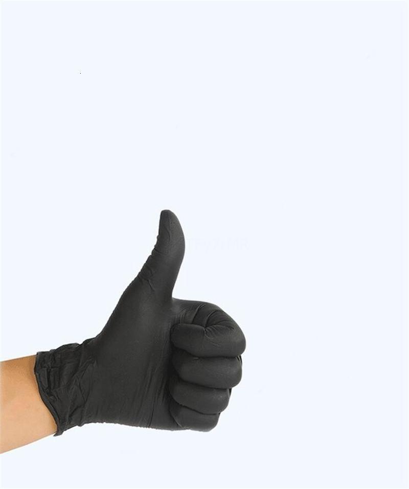 Schermo trasparente Hotpvc touch guanto Micro-elastico Inch 9 di gomma di sicurezza in lattice di pulizia universale di lavoro Finger Gloves
