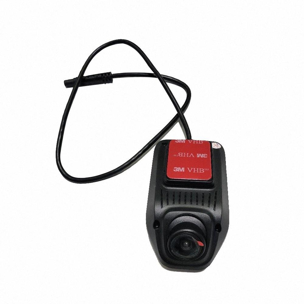 TOOPAI monitor del coche del USB del coche DVR Grabador de vídeo digital cámara frontal USB CMOS HD para Android 9.0 Android 8.1 8.0 DVD GPS dxfL #