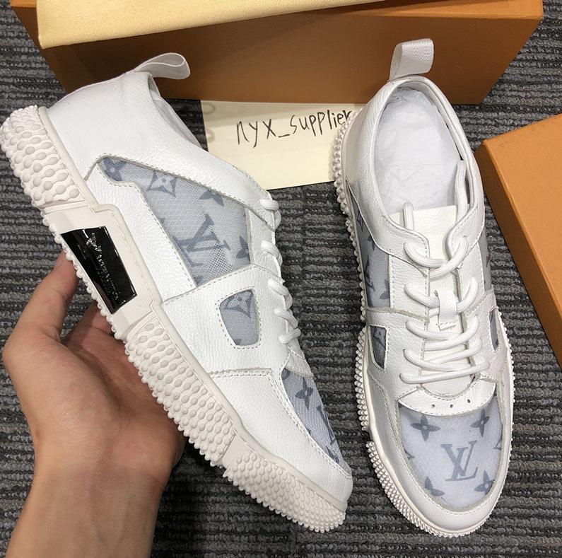 2020U edición limitada de cuero de lujo de los hombres 'zapatos ocasionales de s, alta calidad de la manera salvaje del partido de los hombres', zapatos deportivos, S Tamaño: 38 -45