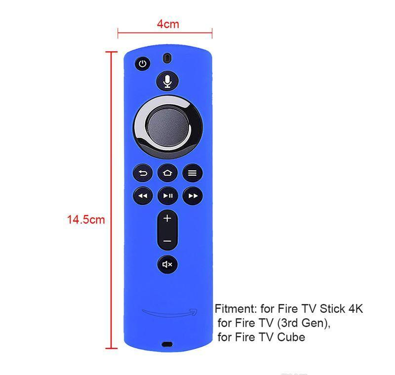 Protective Fire Protector Inch Stick Remote Cover Tv Control Skin Silicone For Tv Amazon Shell 4k 5.6 Case loveshop01 vResa