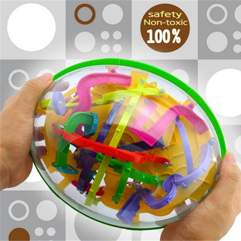 299 Barriers 3D Puzzle Labyrinth Perplexus Magical Intellect Maze Ball Intelligence Educational Toys for Children MX200414