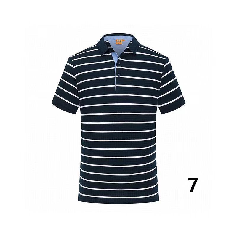 20-18 cotone di estate di colore solido nuovo stile di polo di alta qualità fabbrica polo uomo luxury1 uomini di marca in vendita