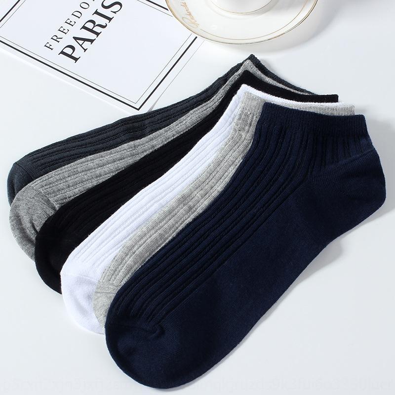 D20ai independiente en barco toma de envasado y de la boca de la aguja de algodón de algodón barco de los hombres calcetines poco profundos dobles de los hombres delgados calcetines transpirables