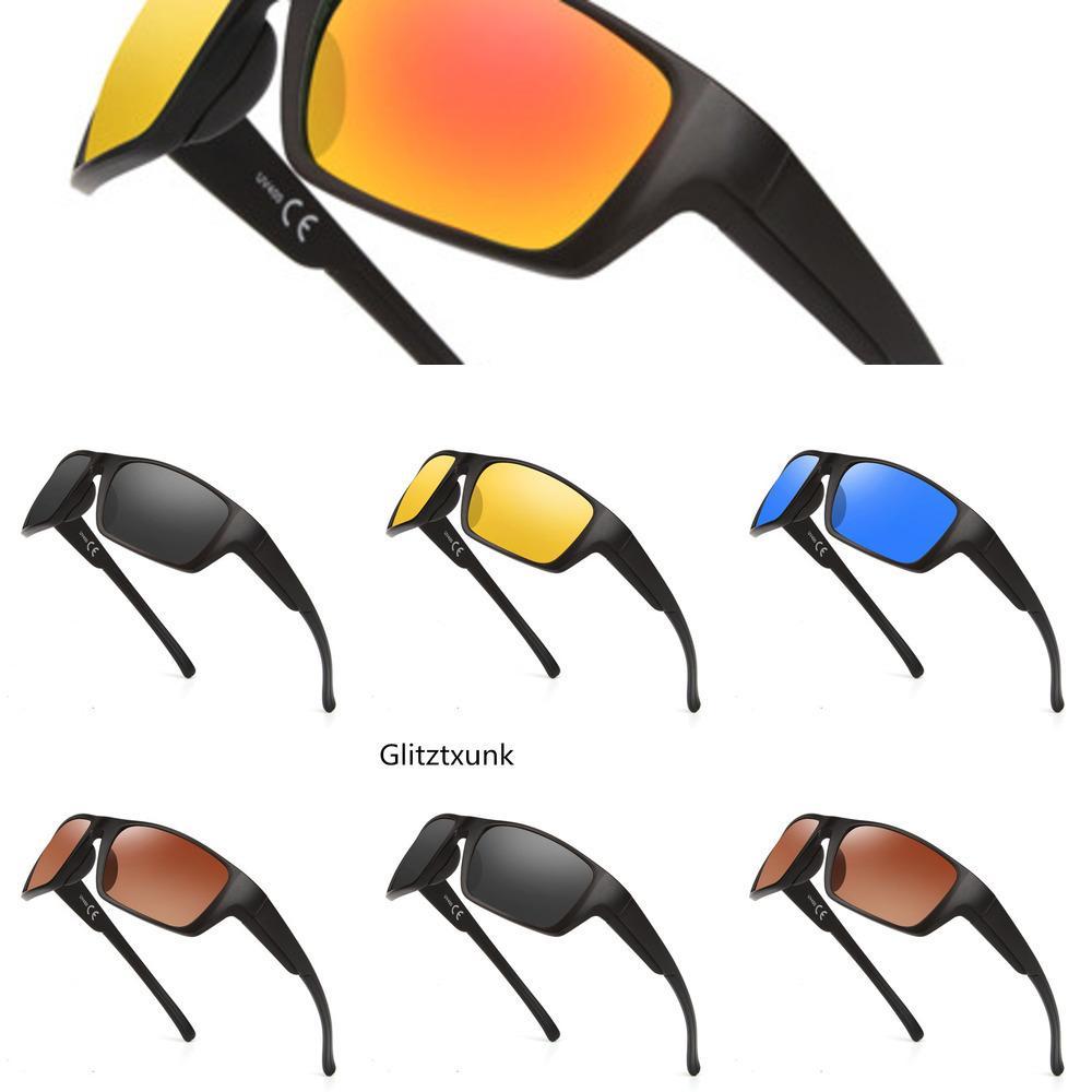 Brand new Glitztxunk sunglasses 2020 for men, fashionable sunglasses for men, driving sunglasses, sunglasses UV400 Ocuio De Sol