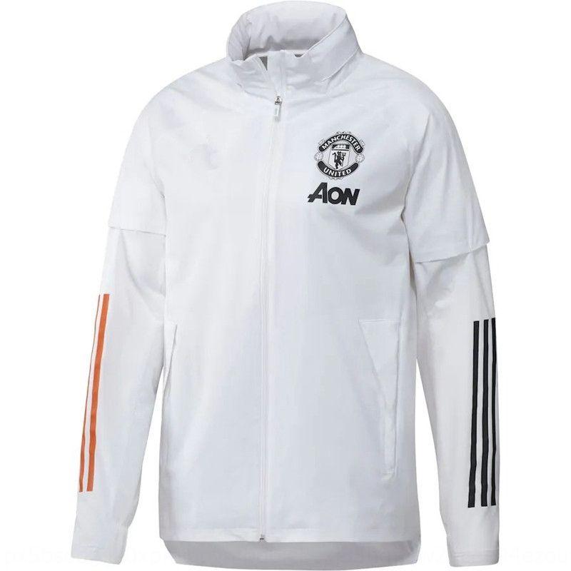 New Manchester United Windbreaker casaco roupa traje roupas GD9007 New Manchester United Windbreaker trench coat traje GD9007