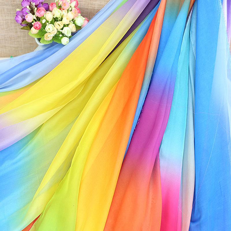 30D tessuto leggero chiffon sottile intreccio estate traspirante cosplay dr fai da te che scorre ombre tessuto morbido setosa Tencel chiffon