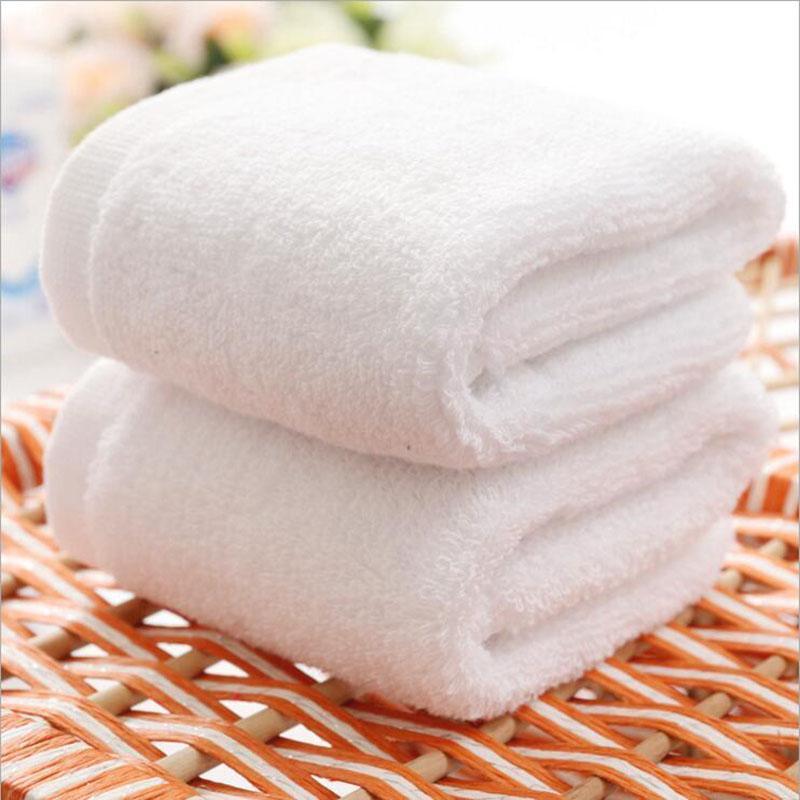 Los niños de 30 * 30 cm blanca 100% toalla del algodón toallas de baño toalla de cara hotel spa salón del automóvil de alta calidad de DHL