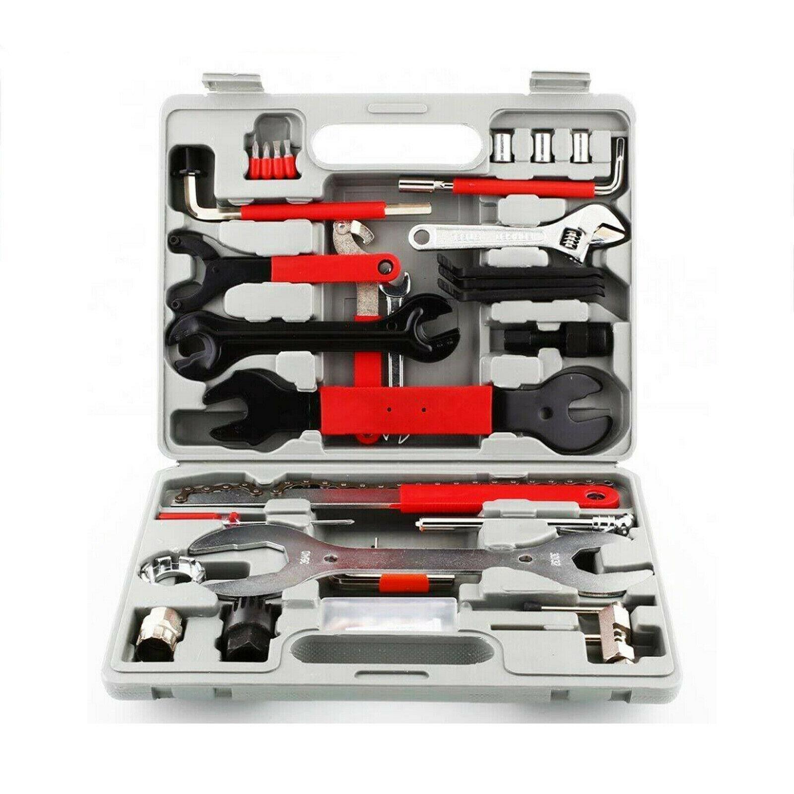 44PC multifunzionali di riparazione della bicicletta Tool Set casa Combinazione Meccanico Kit Bike