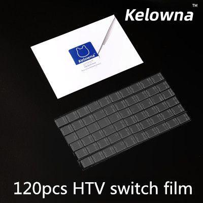 수리를 위해 기계식 키보드 HTV 축 필름 1 개 팩 킬로 명확한 MX 스위치 필름