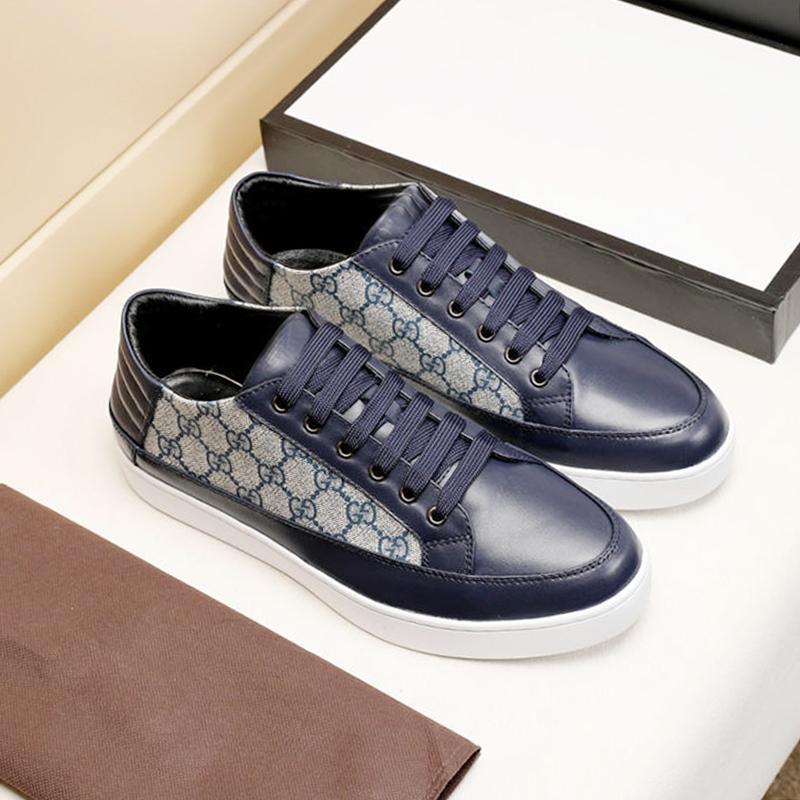 Confortevole uomini '; s Scarpe Scarpe da uomo Autunno Inverno morbida Footwears basso di alta qualità superiore del merletto-Up Sport Uomini Chunky scarpa da tennis