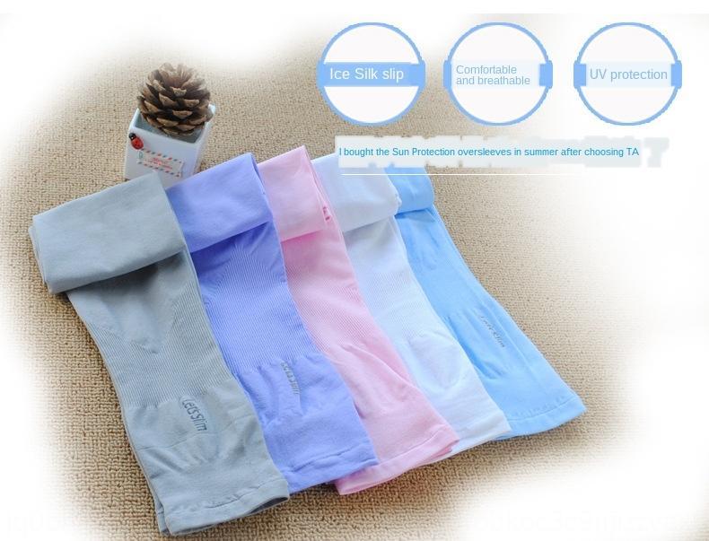 style coréen course longue protection UV solaire de soie hommes gants en plein air gants de conduite formation manches de glace manches de glace bras à cheval zqqeK z