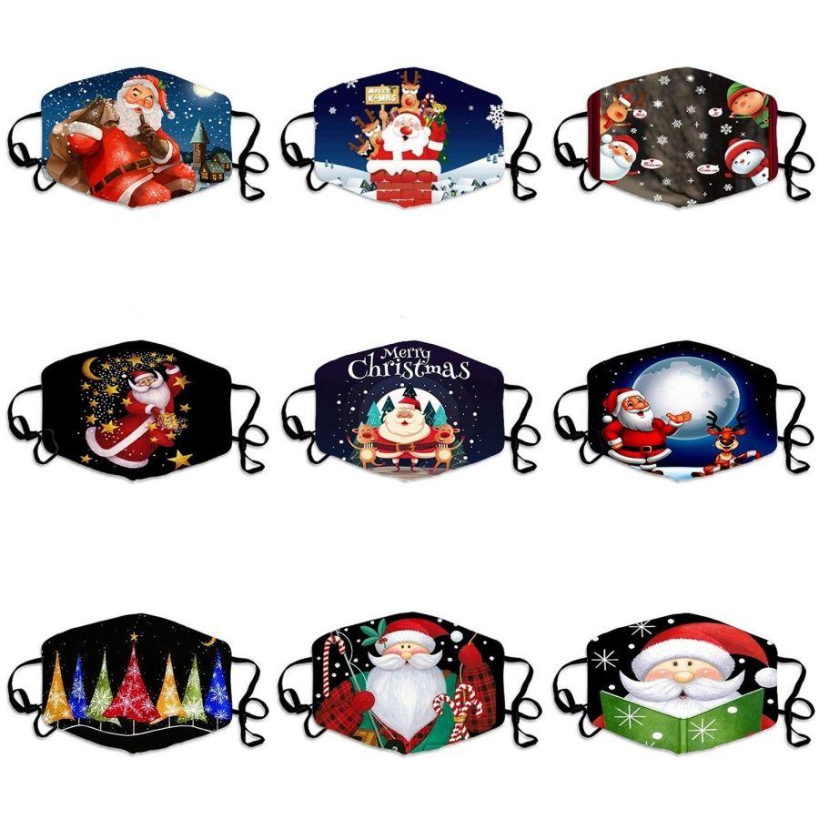 Şık Baskılar Stereo Yüz Maskeleri Toz earloop Prective Ağız Maskeleri Mascherine Karşıtı Tükürük Splash Maske # 282