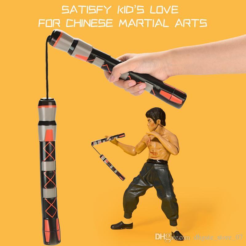 Martial Arts Nun Chucks children's toy stick beginners practice sports Nun Chucks stick in real combat both boy and girl
