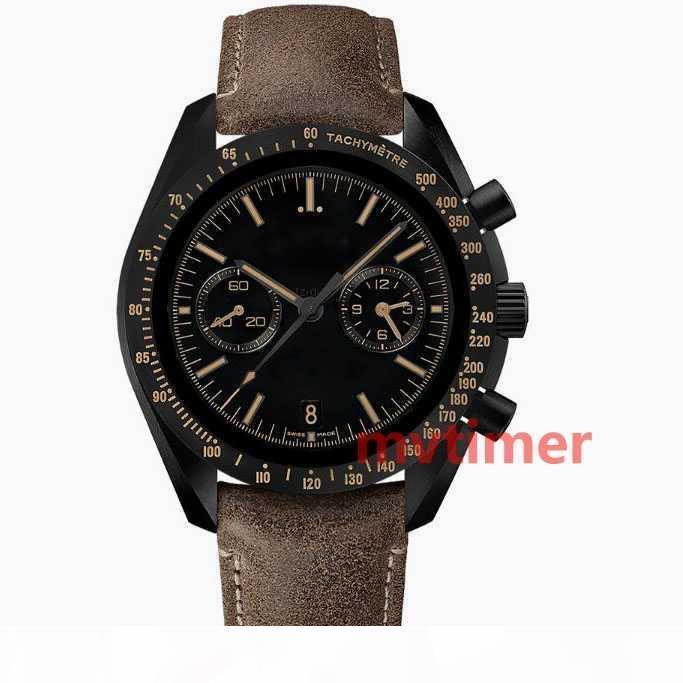 Hot Luxury Business Mens Moon кожаный ремешок автоматические механические часы высокого качества Мода Спортивные часы Master Наручные часы