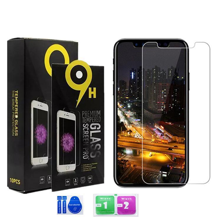 LG K40 K51 Stylo 6 5 4 Aristo 5 4 Plus Moto E7 G Fast Samsung A10S A20S A71 A51 A01 A11 A21 스크린 보호자 명확한 강화 유리 9h