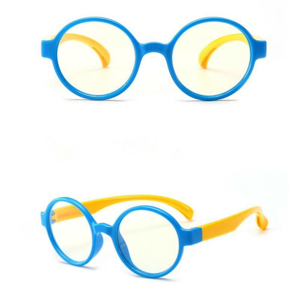 Kids Anti-blue Light Glasses Anti-UV Radiation Protection Computer Goggles Flexible Frame Eyeglasses Girl Boy Gafas Para NiñOs