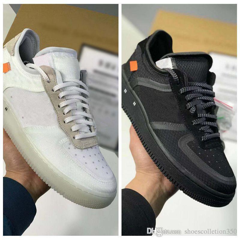 Nike Air Force 1 Nuevas Fuerzas voltios zapatos corrientes de las mujeres para hombre de Formadores una se divierte el monopatín clásico 1 Verde Blanco Negro Guerrero zapatillas