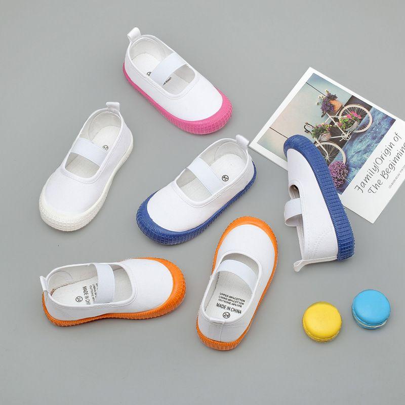 hgirls 2020 ربيع الخريف أحذية رياضية عارضة جديدة للأطفال الصغار وشبكة للتنفس عدم الانزلاق الاحذية