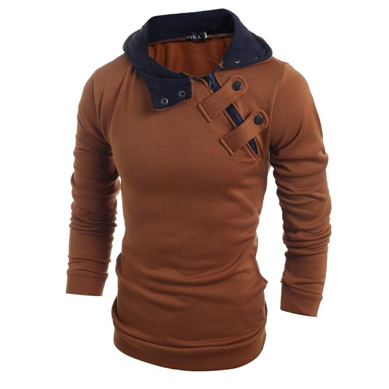 Drop shipping tout neuf hommes mode chapeau Slim de réduction des hommes occasionnels chandail 4 couleurs veste hiver chaud manteau, plus haut 3XL