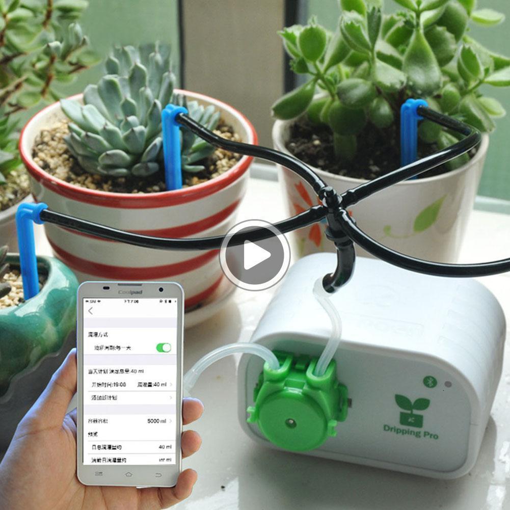 Bomba de água Moile Pone Controlador temporizador do sistema de irrigação por gotejamento Devi plantas de interior Intelligent Jardim Rega Automática Christine